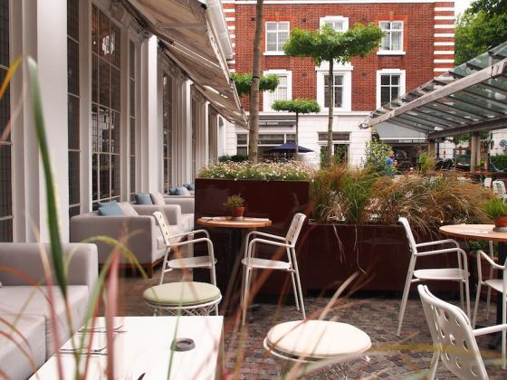 英国Kings街道咖啡馆庭院改造外部-英国Kings街道咖啡馆庭院改造第7张图片
