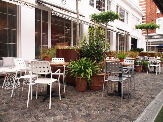 英国Kings街道咖啡馆庭院改造外部-英国Kings街道咖啡馆庭院改造第2张图片