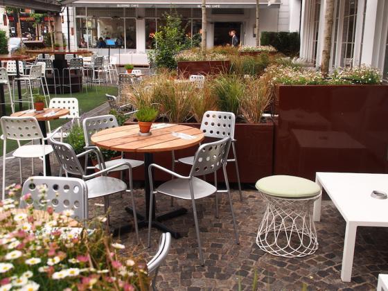 英国Kings街道咖啡馆庭院改造外部-英国Kings街道咖啡馆庭院改造第8张图片