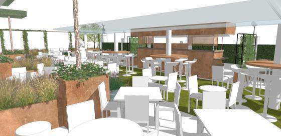 英国Kings街道咖啡馆庭院改造效果-英国Kings街道咖啡馆庭院改造第14张图片