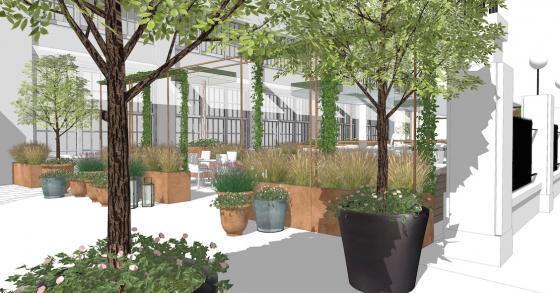 英国Kings街道咖啡馆庭院改造效果-英国Kings街道咖啡馆庭院改造第15张图片