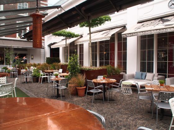 英国Kings街道咖啡馆庭院改造外部-英国Kings街道咖啡馆庭院改造第12张图片