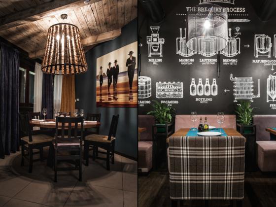 乌克兰ToscanaGrill烧烤餐厅-乌克兰Toscana Grill烧烤餐厅室内-乌克兰Toscana Grill烧烤餐厅第6张图片