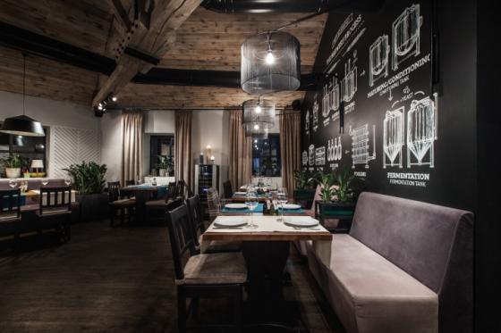 乌克兰ToscanaGrill烧烤餐厅-乌克兰Toscana Grill烧烤餐厅室内-乌克兰Toscana Grill烧烤餐厅第17张图片