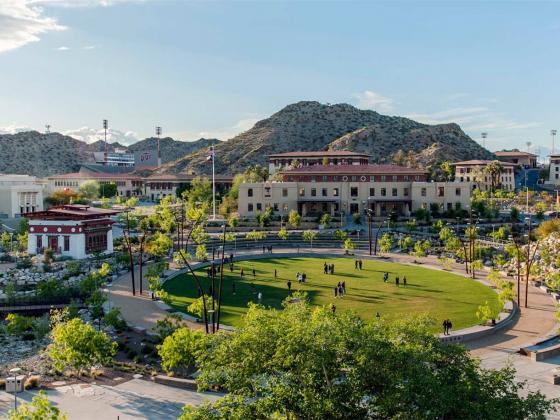 美国德克萨斯大学ElPaso校区世纪广场-美国德克萨斯大学El Paso校区世纪广场第1张图片