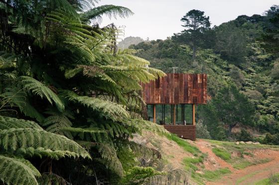 新西兰考埃朗格谷住宅外部实景图-新西兰考埃朗格谷住宅第3张图片