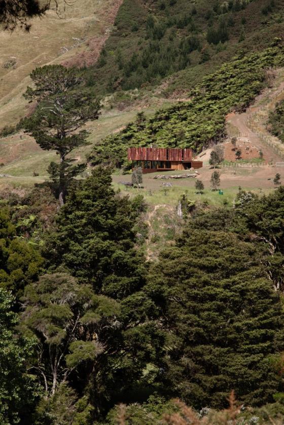 新西兰考埃朗格谷住宅外部实景图-新西兰考埃朗格谷住宅第4张图片