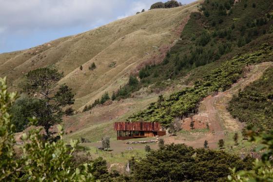 新西兰考埃朗格谷住宅外部实景图-新西兰考埃朗格谷住宅第2张图片