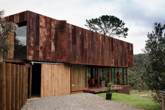 新西兰考埃朗格谷住宅外部实景图-新西兰考埃朗格谷住宅第5张图片