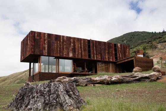 新西兰考埃朗格谷住宅外部实景图-新西兰考埃朗格谷住宅第6张图片