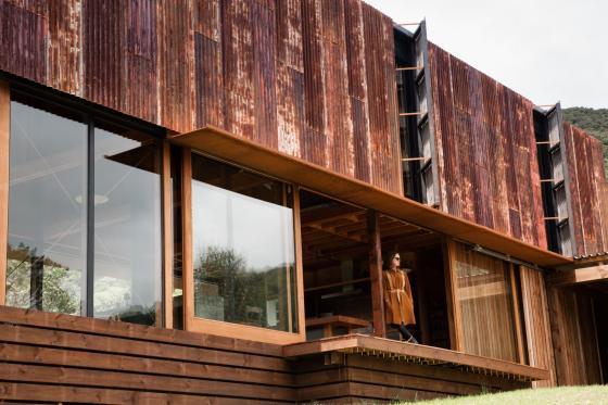 新西兰考埃朗格谷住宅外部实景图-新西兰考埃朗格谷住宅第8张图片