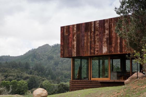 新西兰考埃朗格谷住宅外部实景图-新西兰考埃朗格谷住宅第7张图片