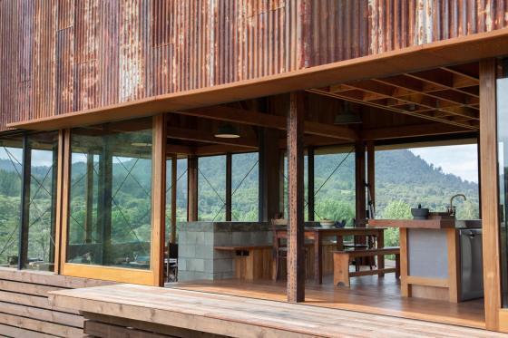 新西兰考埃朗格谷住宅外部实景图-新西兰考埃朗格谷住宅第9张图片