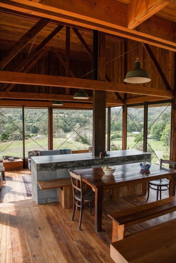 新西兰考埃朗格谷住宅内部实景图-新西兰考埃朗格谷住宅第12张图片