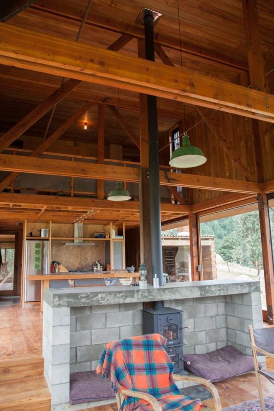 新西兰考埃朗格谷住宅内部实景图-新西兰考埃朗格谷住宅第13张图片