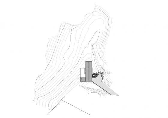 新西兰考埃朗格谷住宅平面图-新西兰考埃朗格谷住宅第18张图片