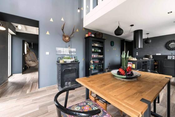 法国浪漫精致的住宅室内实景图-法国浪漫精致的住宅第3张图片