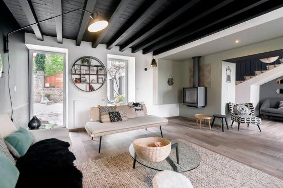 法国浪漫精致的住宅室内实景图-法国浪漫精致的住宅第2张图片
