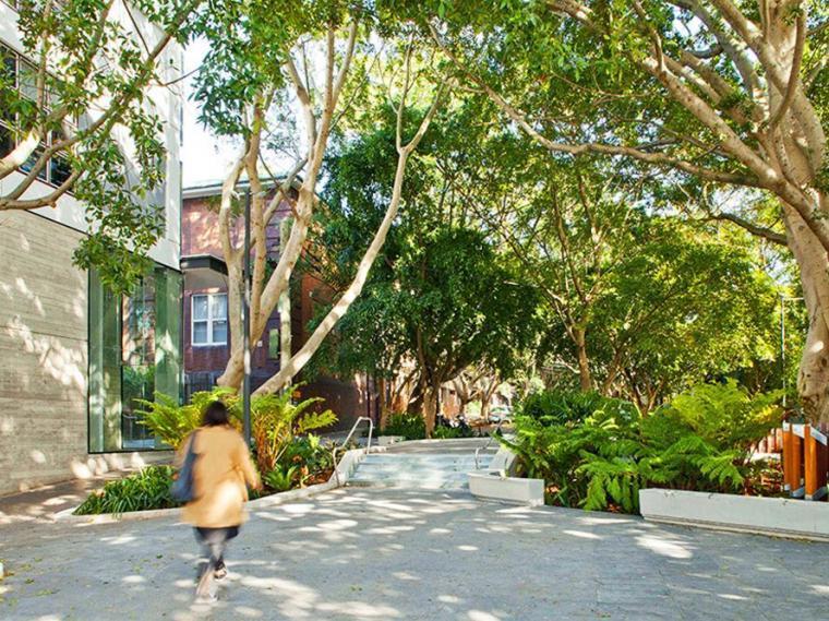 澳大利亚纳皮尔街开放景观