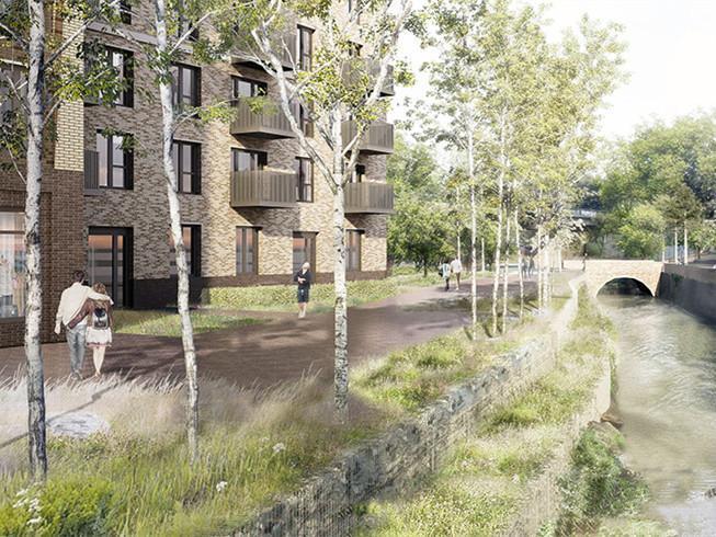 英国CATFORD绿色住宅区的改造
