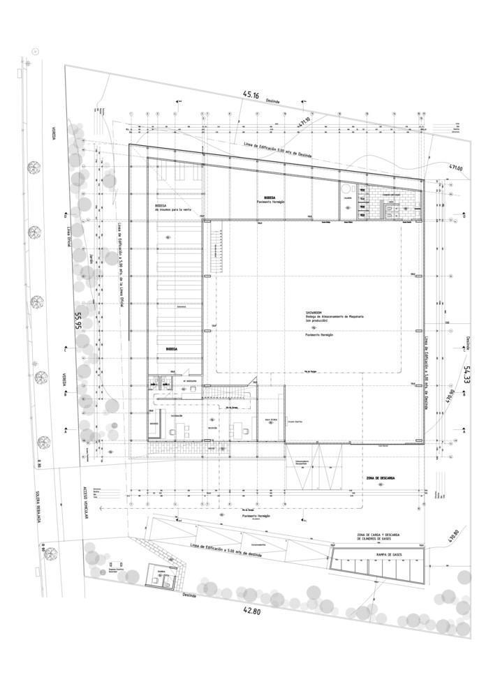 智利Proingas办公楼平面图-智利Proingas办公楼第26张图片