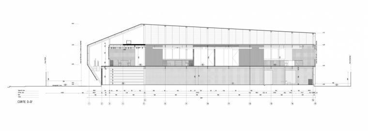 智利Proingas办公楼剖面图-智利Proingas办公楼第36张图片