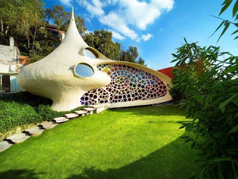 墨西哥鹦鹉螺贝壳屋景观