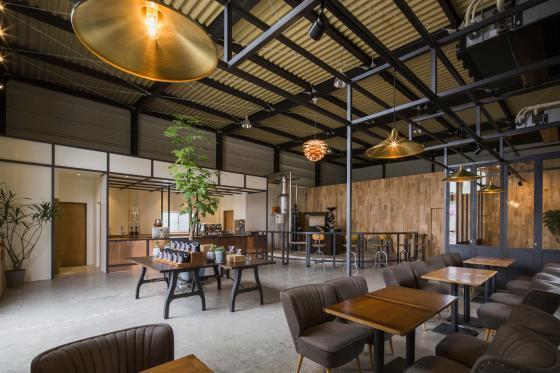日本R艺术咖啡店内部实景图-日本R艺术咖啡店第6张图片