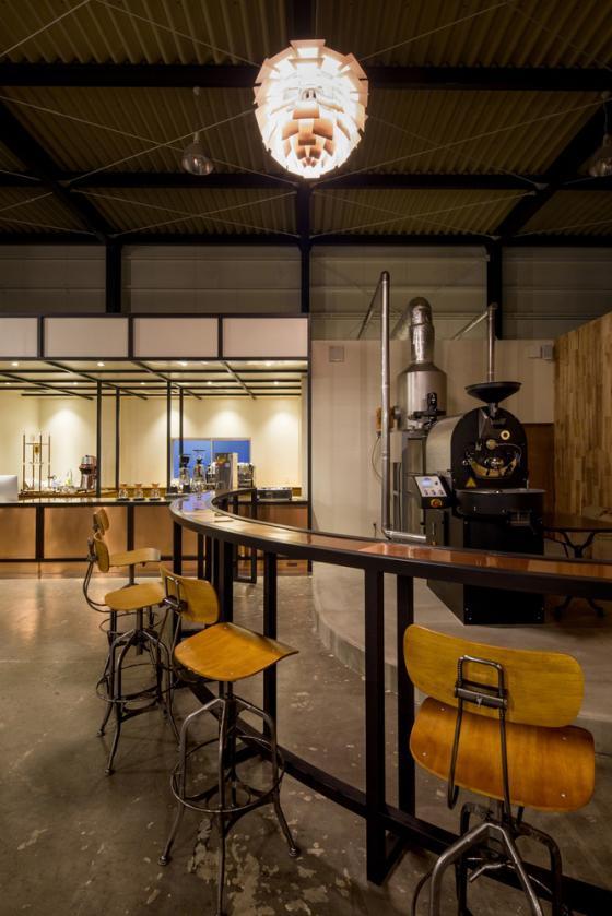 日本R艺术咖啡店内部实景图-日本R艺术咖啡店第9张图片