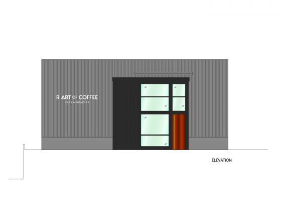 日本R艺术咖啡店立面图-日本R艺术咖啡店第11张图片