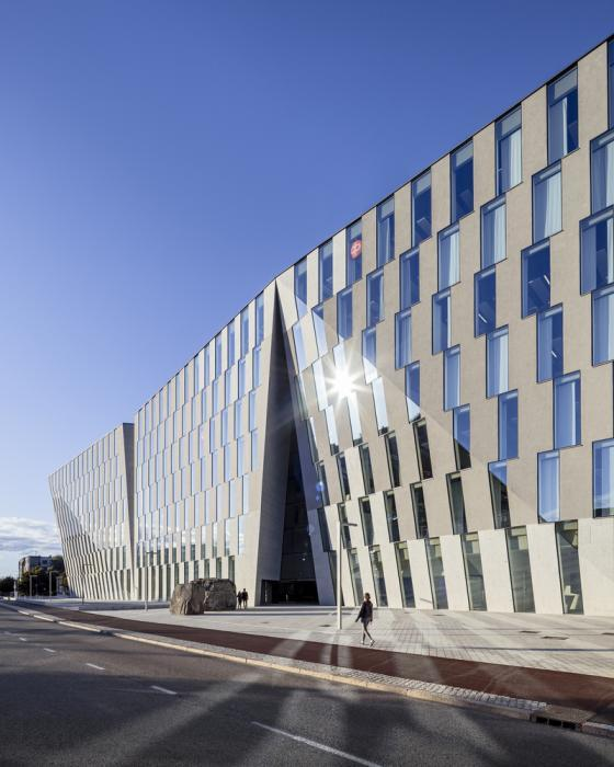 芬兰赫尔辛基OP金融集团总部外部-芬兰赫尔辛基OP金融集团总部第4张图片