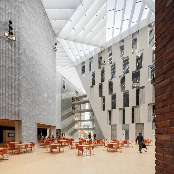 芬兰赫尔辛基OP金融集团总部内部-芬兰赫尔辛基OP金融集团总部第9张图片