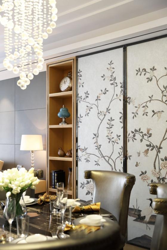 深圳素雅风格的住宅室内实景图-深圳素雅风格的住宅第8张图片