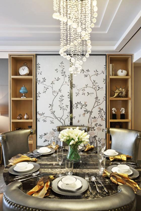 深圳素雅风格的住宅室内实景图-深圳素雅风格的住宅第9张图片
