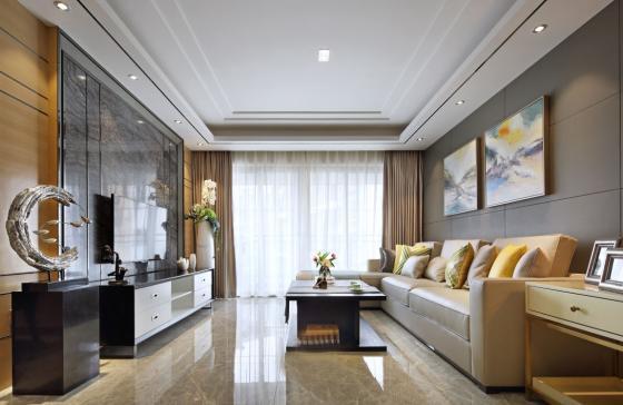 深圳素雅风格的住宅室内实景图-深圳素雅风格的住宅第10张图片