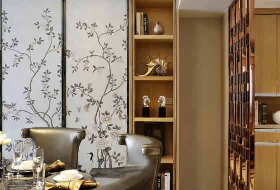 深圳素雅风格的住宅室内实景图-深圳素雅风格的住宅第12张图片