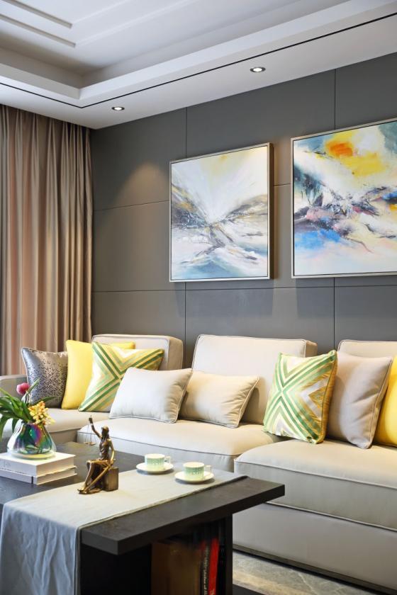 深圳素雅风格的住宅室内实景图-深圳素雅风格的住宅第11张图片