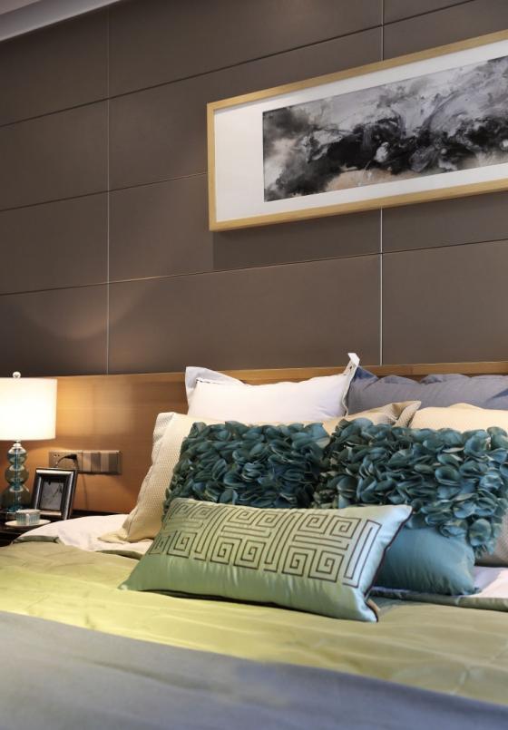 深圳素雅风格的住宅室内实景图-深圳素雅风格的住宅第15张图片