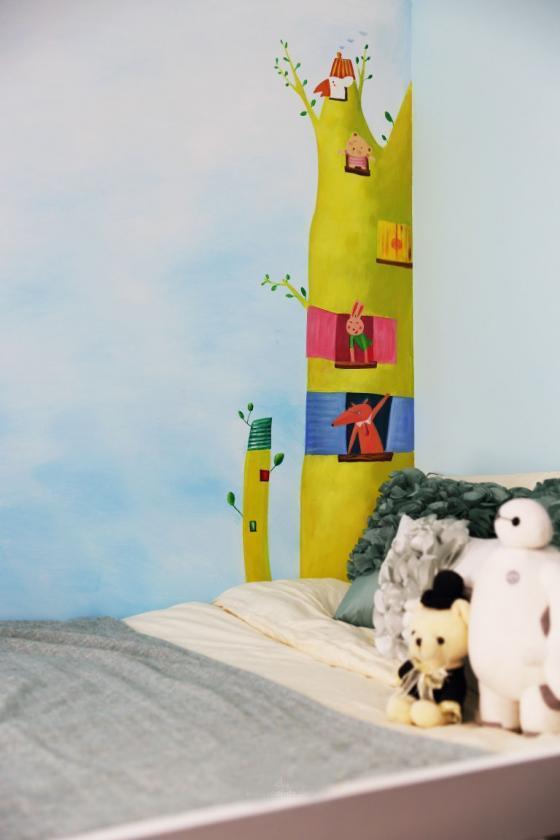 深圳素雅风格的住宅室内实景图-深圳素雅风格的住宅第17张图片