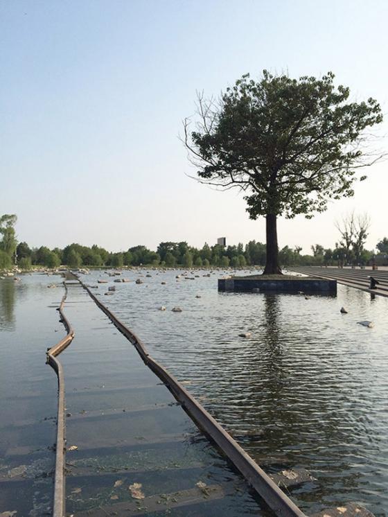 唐山地震遗址纪念公园外部实景图-唐山地震遗址纪念公园第4张图片