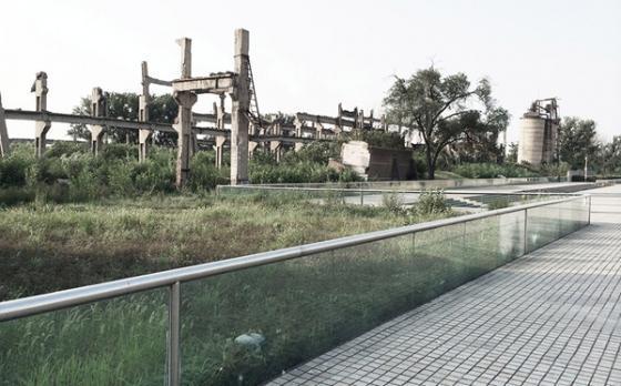 唐山地震遗址纪念公园外部实景图-唐山地震遗址纪念公园第8张图片