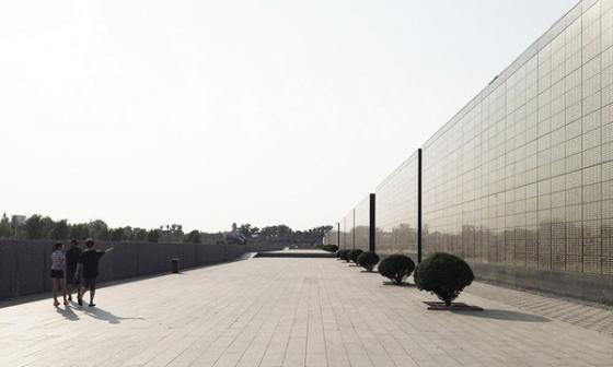 唐山地震遗址纪念公园外部实景图-唐山地震遗址纪念公园第9张图片
