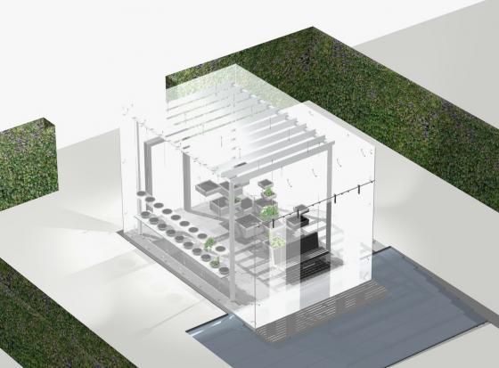瑞士诺华制药公司药用植物园模型-瑞士诺华制药公司药用植物园第25张图片