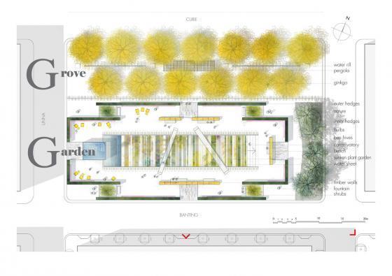 瑞士诺华制药公司药用植物园平面-瑞士诺华制药公司药用植物园第29张图片