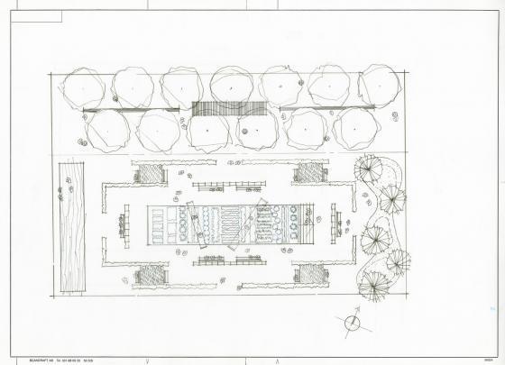 瑞士诺华制药公司药用植物园平面-瑞士诺华制药公司药用植物园第34张图片