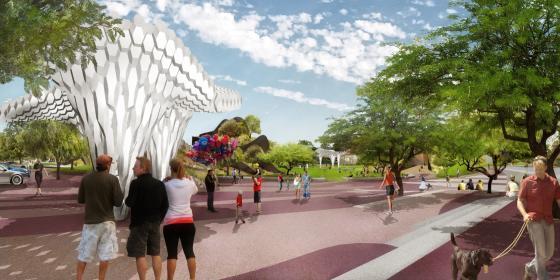 美国凤凰城Hance公园的改造效果图-美国凤凰城Hance公园的改造第7张图片