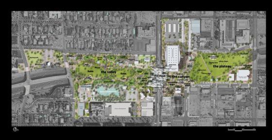 美国凤凰城Hance公园的改造平面图-美国凤凰城Hance公园的改造第9张图片