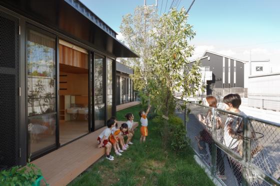 日本OA幼儿园外部实景图-日本OA幼儿园第5张图片