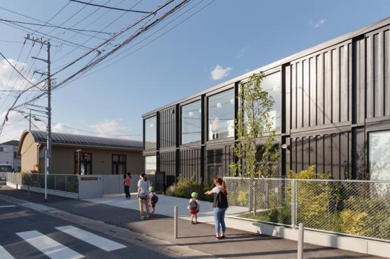 日本OA幼儿园外部实景图-日本OA幼儿园第6张图片