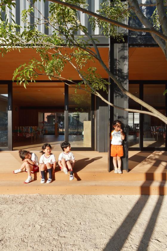 日本OA幼儿园外部实景图-日本OA幼儿园第8张图片